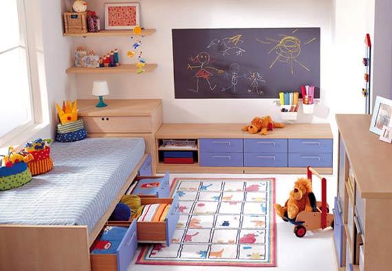 Ureditev otroške sobe po naročilu