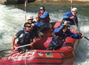 teambuilding - rafting