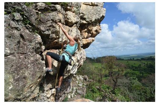 tehnično plezanje tehnična izdelava plezalne stene